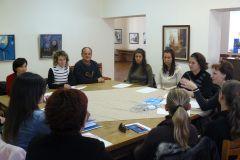 Tréning - Személyes ügyfélszolgálati asszisztens tanfolyam résztvevőivel